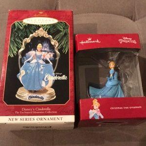 Disney Cinderella Ornaments